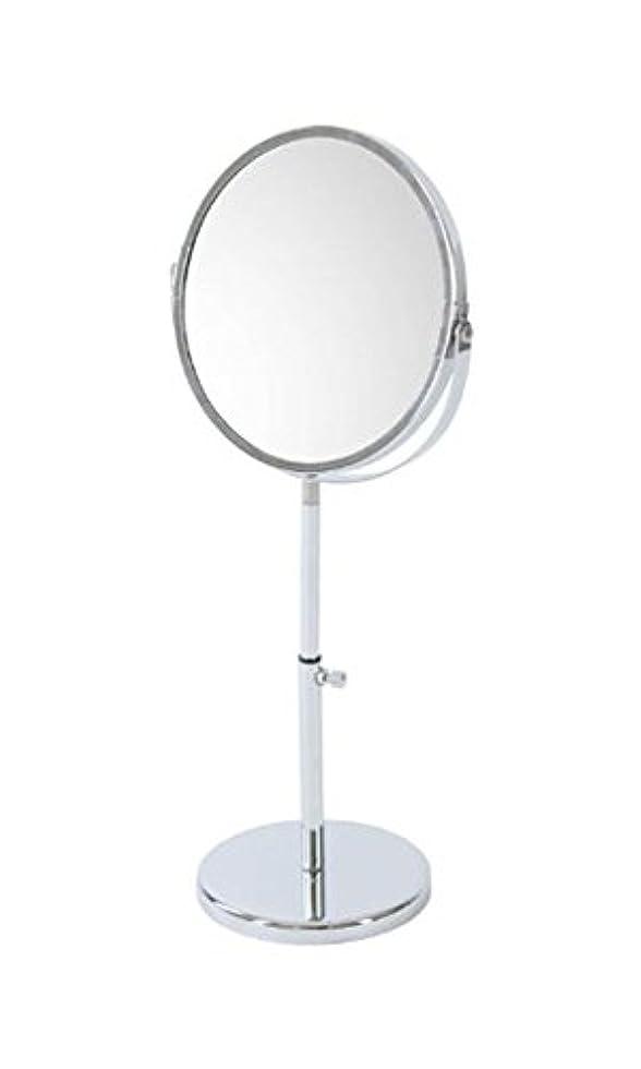 優越イソギンチャクレプリカnarumikk メイクアップミラー 拡大鏡付き 高さ調節可能 26- 800