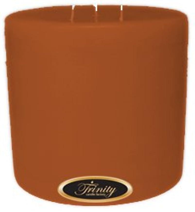 ラフ睡眠カール紫のTrinity Candle工場 – Patchouli – Pillar Candle – 6 x 6