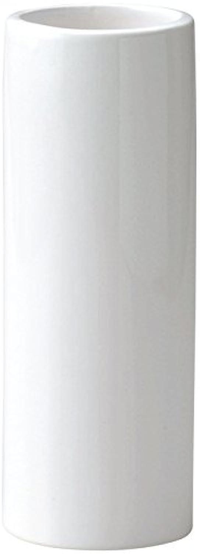 GREEN HOUSE Monochrome Flower Vase ホワイト φ9×24cm 001-B/W