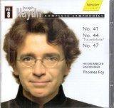 Haydn : Complete Symphonies Vol. 8 No. 41 No. 44 Trauersinfonie No. 47 [RARE] (2007-05-03)