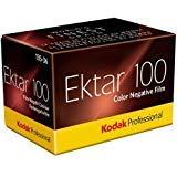 Kodak Ektar 100Professional ISO 100、35mm、36exposures、カラー負Film 3パック