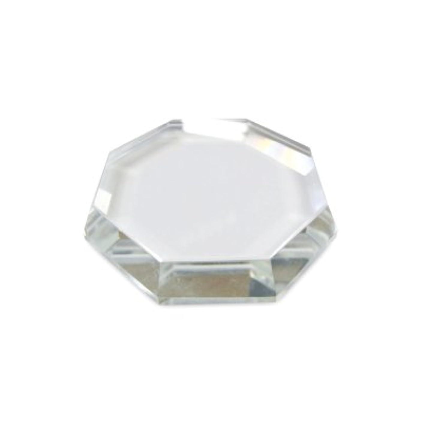 公平な残基論争[まつげエクステ]クリスタルグループレート〈ガラス製〉八角形 55mm