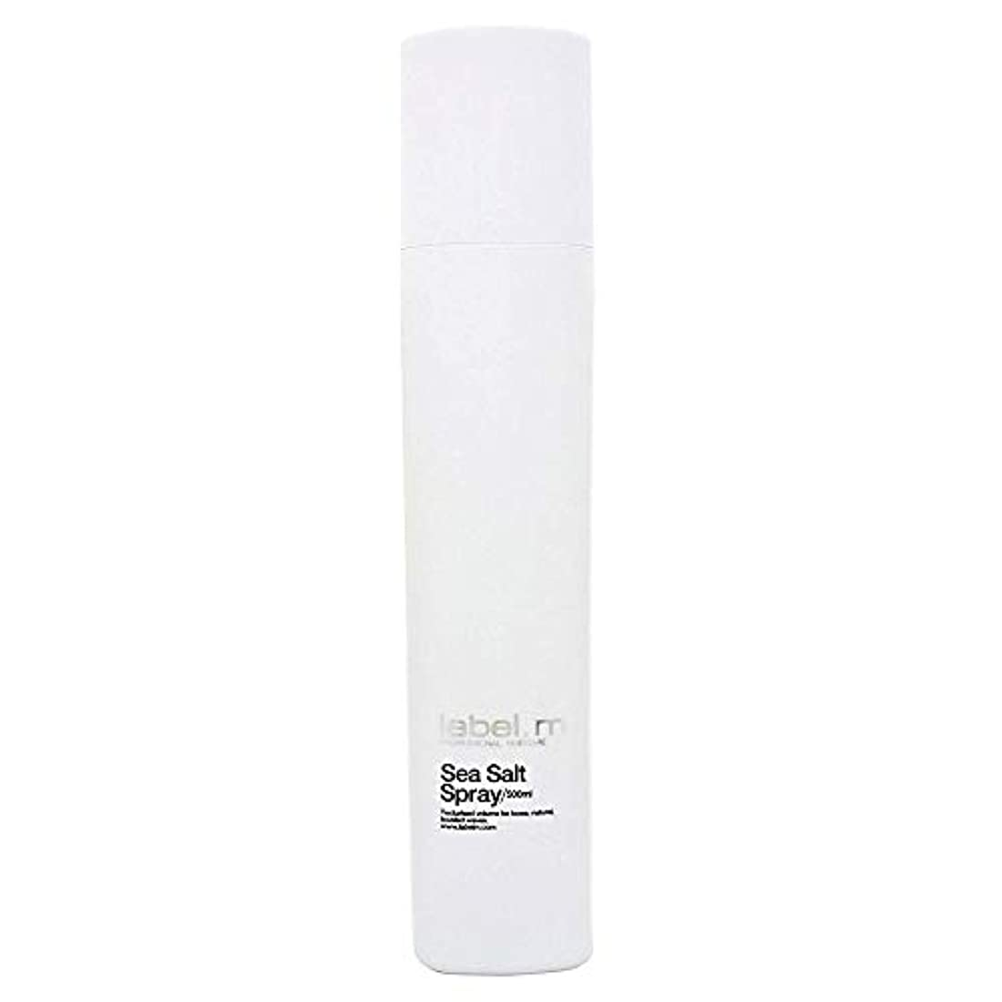 蒸し器本体ハンディキャップToni & Guy Label.m海塩スプレー、500ミリリットル(16.9 OZ) 16.9オンス