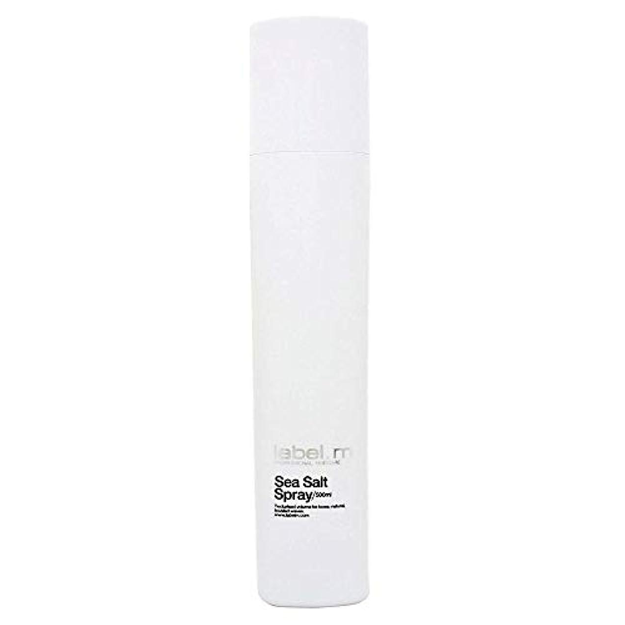 警告無限大錆びToni & Guy Label.m海塩スプレー、500ミリリットル(16.9 OZ) 16.9オンス