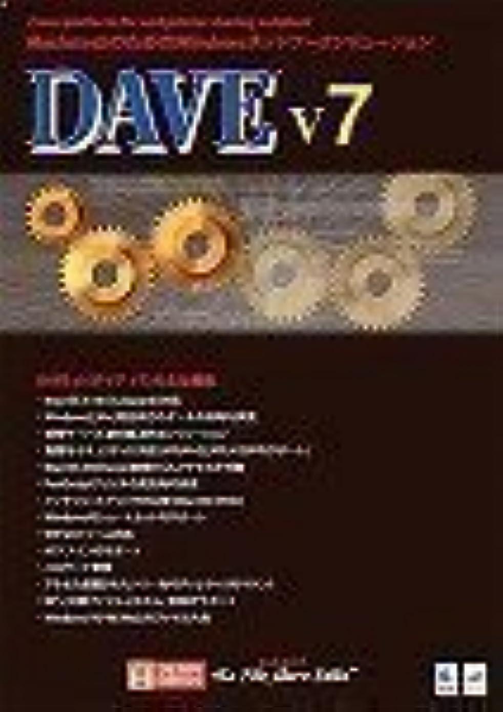 おとこ形状嵐のDAVE v7 アカデミック版