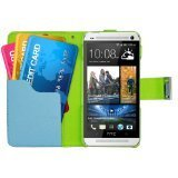 Eagle Cell Wallet Pouch for HTC One/M7 - Retail Packaging - Multi Colored 2(並行輸入品) [並行輸入品]