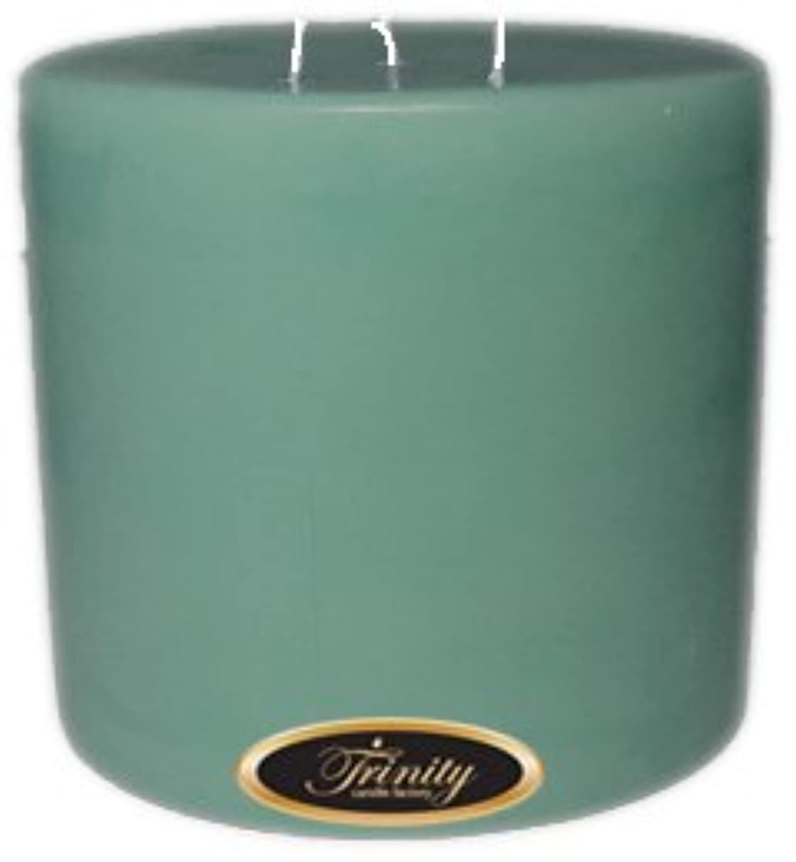 拒絶中央受動的Trinity Candle工場 – Morning Mist – Pillar Candle – 6 x 6