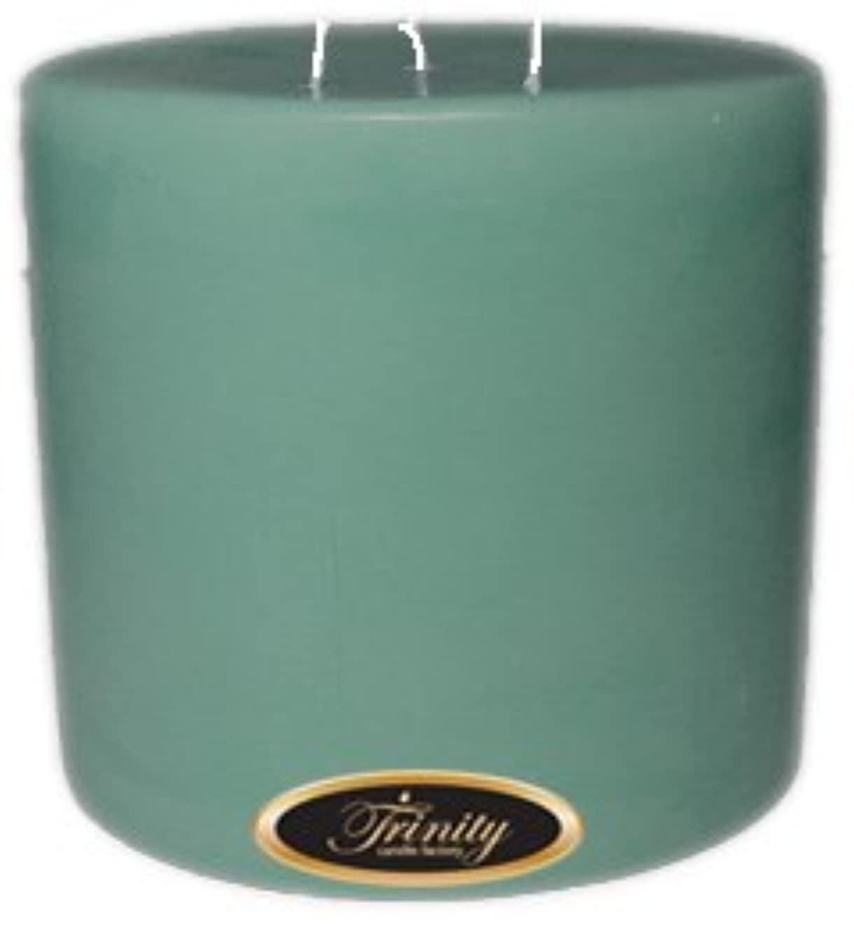 シルエット突破口スマイルTrinity Candle工場 – Morning Mist – Pillar Candle – 6 x 6