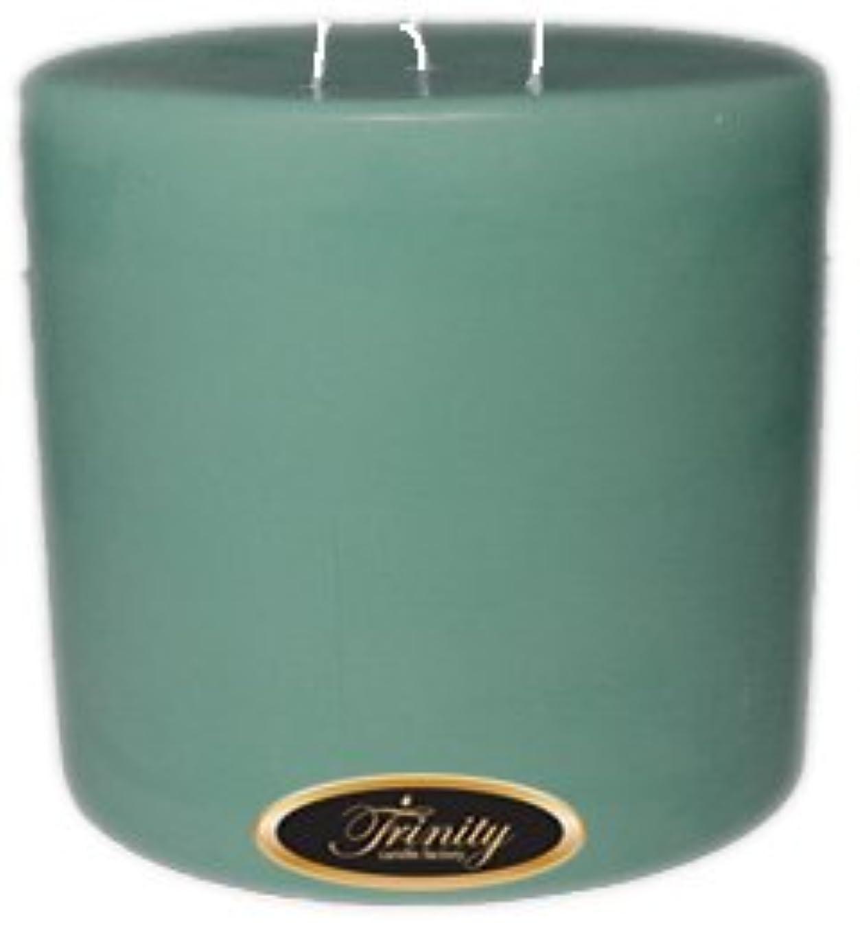 素子大聖堂愛情深いTrinity Candle工場 – Morning Mist – Pillar Candle – 6 x 6
