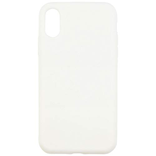 グルマンディーズ iPhoneXR(6.1inch) ケース シリコン プロテクション ホワイト ip18m-05wh