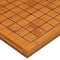 elegantstunning 0.8インチバンブーゲームリバーシブルゴバンボード1919 / 1313 - 3/4インチ