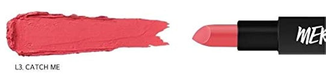 花瓶よく話される石灰岩[ME Series] MERZY The First Lipstick (# L3 Catch me) マーシー ザ ファスト リップスティック [並行輸入品]