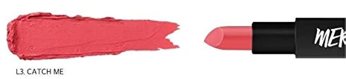 パフ歩き回る運搬[ME Series] MERZY The First Lipstick (# L3 Catch me) マーシー ザ ファスト リップスティック [並行輸入品]