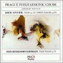 Spohr Mass Op54, 3 Psalms Op.85, Mendelssohn by Spohr/Mendelssohn (1998-10-12)