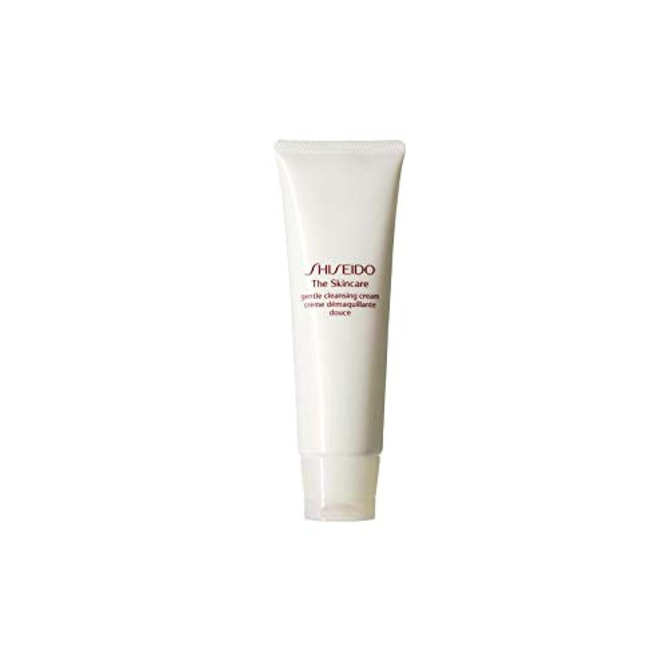 色焼く教室[Shiseido ] 資生堂スキンケアの必需品ジェントルクレンジングクリーム(125ミリリットル) - Shiseido The Skincare Essentials Gentle Cleansing Cream (...