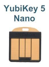 Yubico YubiKey 5 Nano Two Factor Authe...
