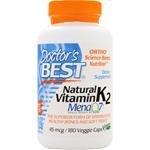 Doctor's Best ビタミンK Natural Vitamin K2 - MenaQ7 180 vcaps [並行輸入品]