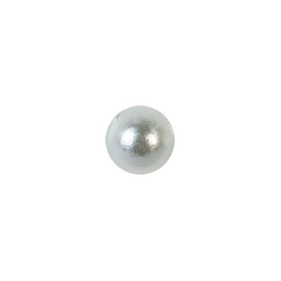 磨かれた水分ハンディピアドラ パール 3mm 50P ホワイト