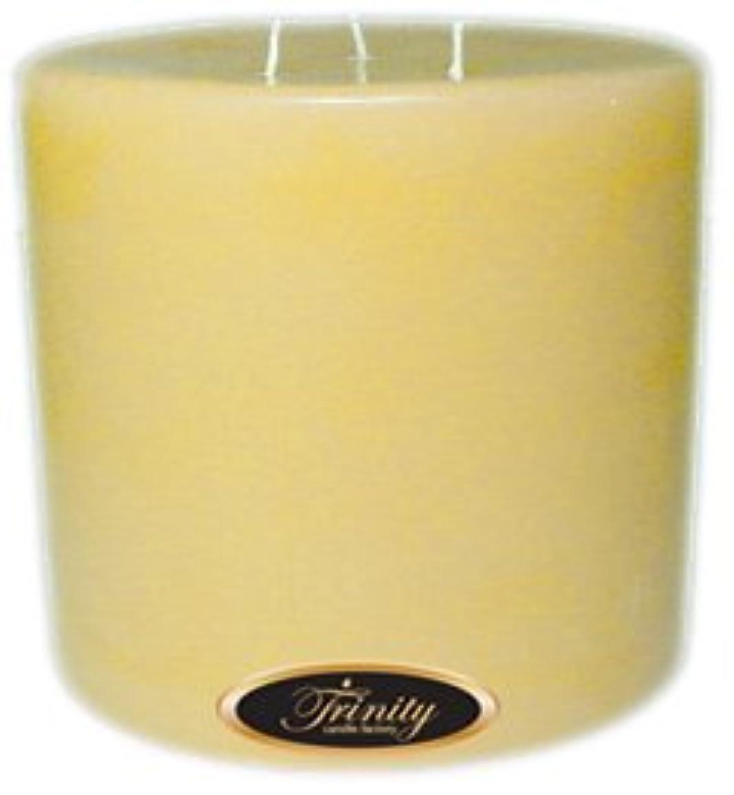 Trinity Candle工場 – Almond Bark – Pillar Candle – 6 x 6