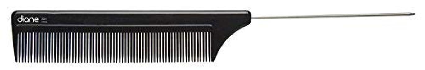 うるさいシャイニング漏斗Diane Comb Stainless Steel Pin Tail Comb 8