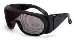 電磁波防御メガネ<<【MG318】⇒ 【帯電 防止】【電磁波対策】 mesh eyewear