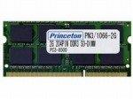プリンストン DOS/V ノート用メモリ 2GB PC3-8500 204pin DDR3-SDRAM SO-DIMM PDN3/1066-2G