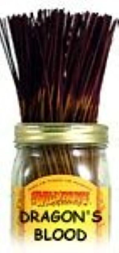 平均憂鬱エレメンタルDragon's Blood - 100 Wildberry Incense Sticks