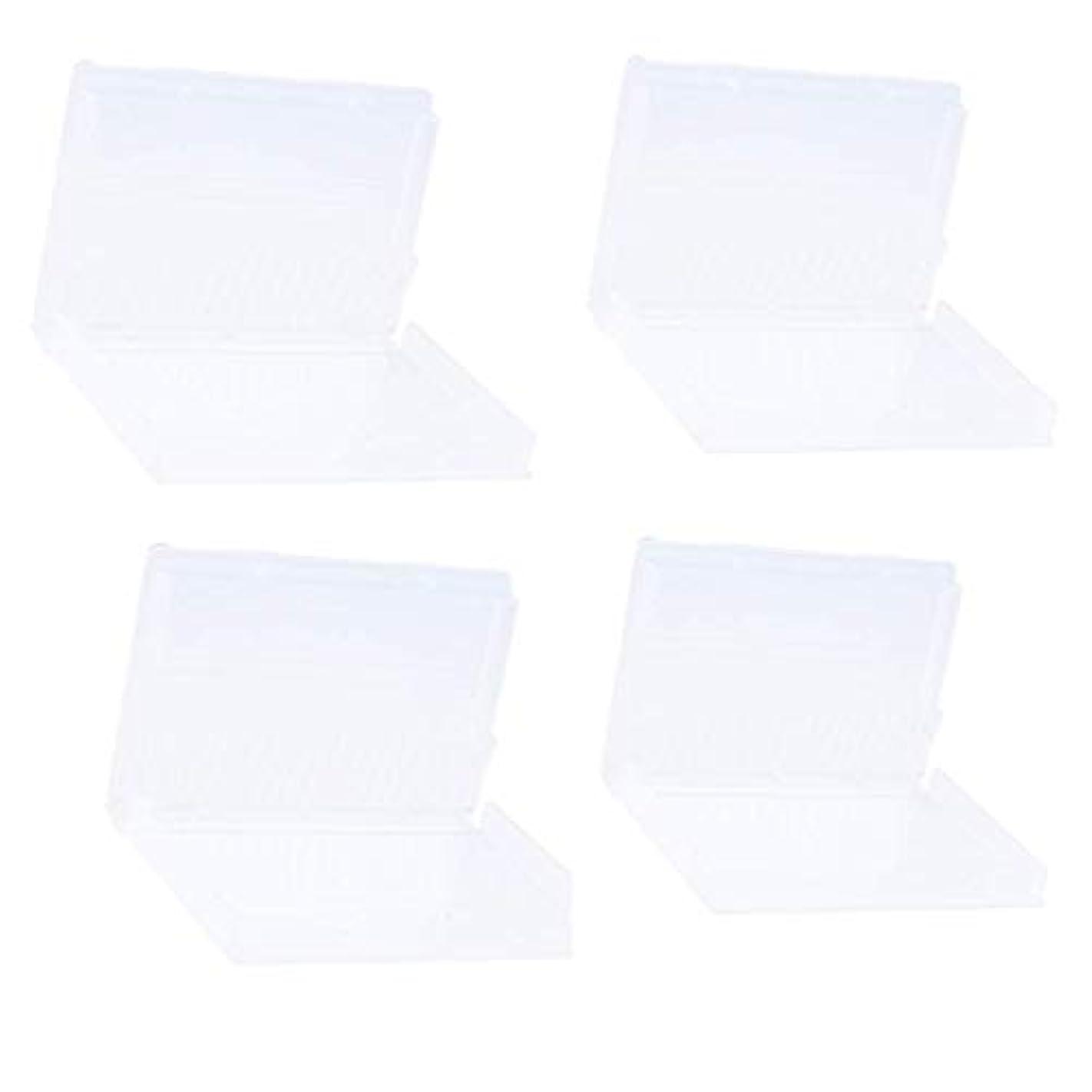 広告する白雪姫下向きSharplace ネイルドリルビットホルダー ネイルドリルビットボックス プラスチック材料 20穴収納 マニキュアボックス