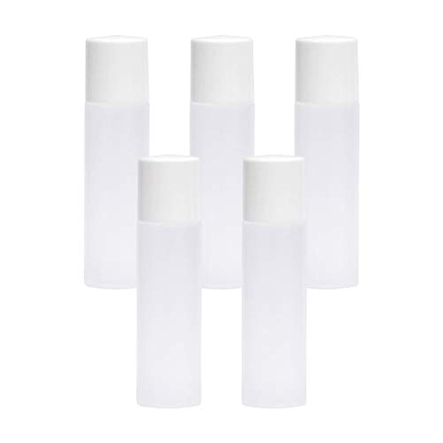 民族主義光のオートメーション白ボトル10ml×5本セット(中栓ノズルタイプ?キャップ付) (プラスチック容器/オイル用空瓶 プラスチック製-PET/空ボトル)