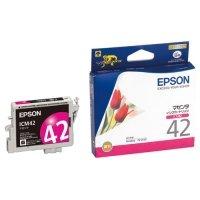 EPSON インクカートリッジ マゼンタ ICM42 1個