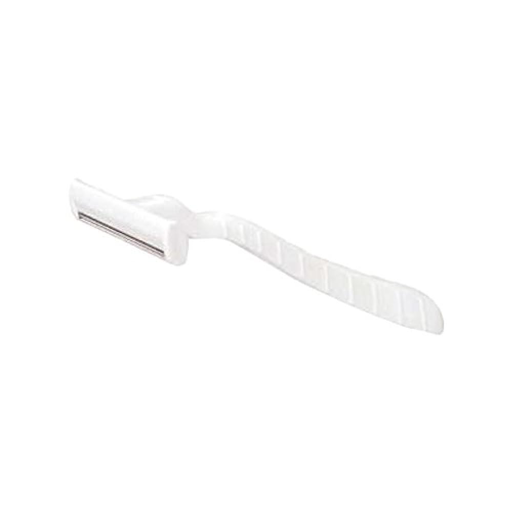 航空機見捨てられたカーテンホテル業務用シックカミソリ2枚刃(白)マット袋入り 10本