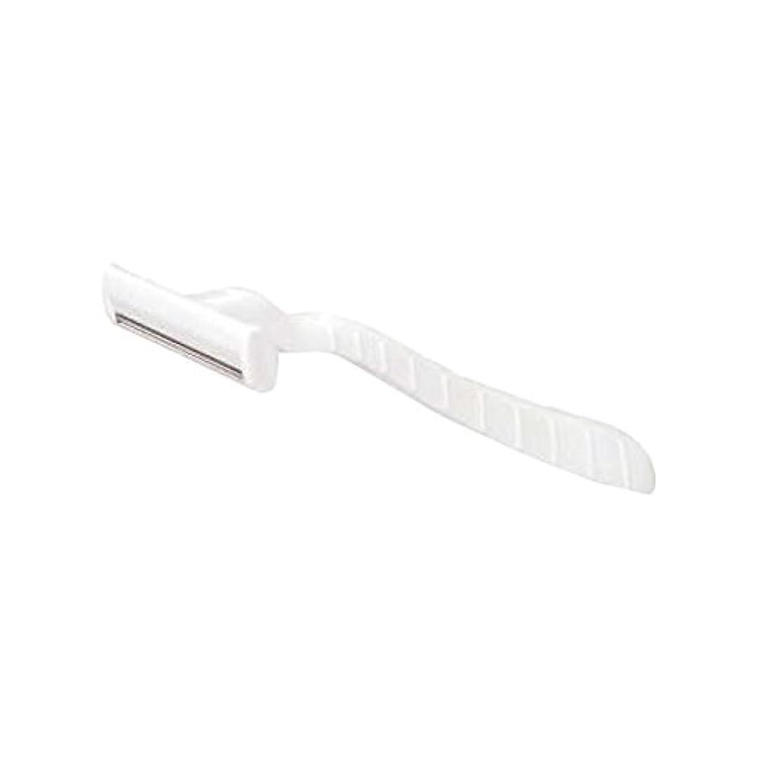 進化滑り台メロディーホテル業務用シックカミソリ2枚刃(白)マット袋入り 10本