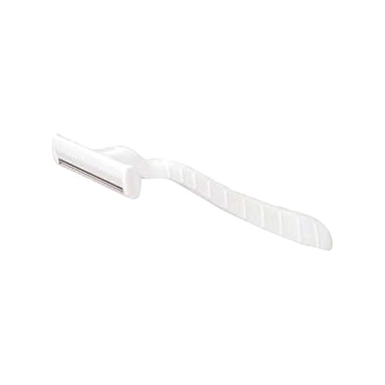 グローバルルアーミッションホテル業務用シックカミソリ2枚刃(白)マット袋入り 10本