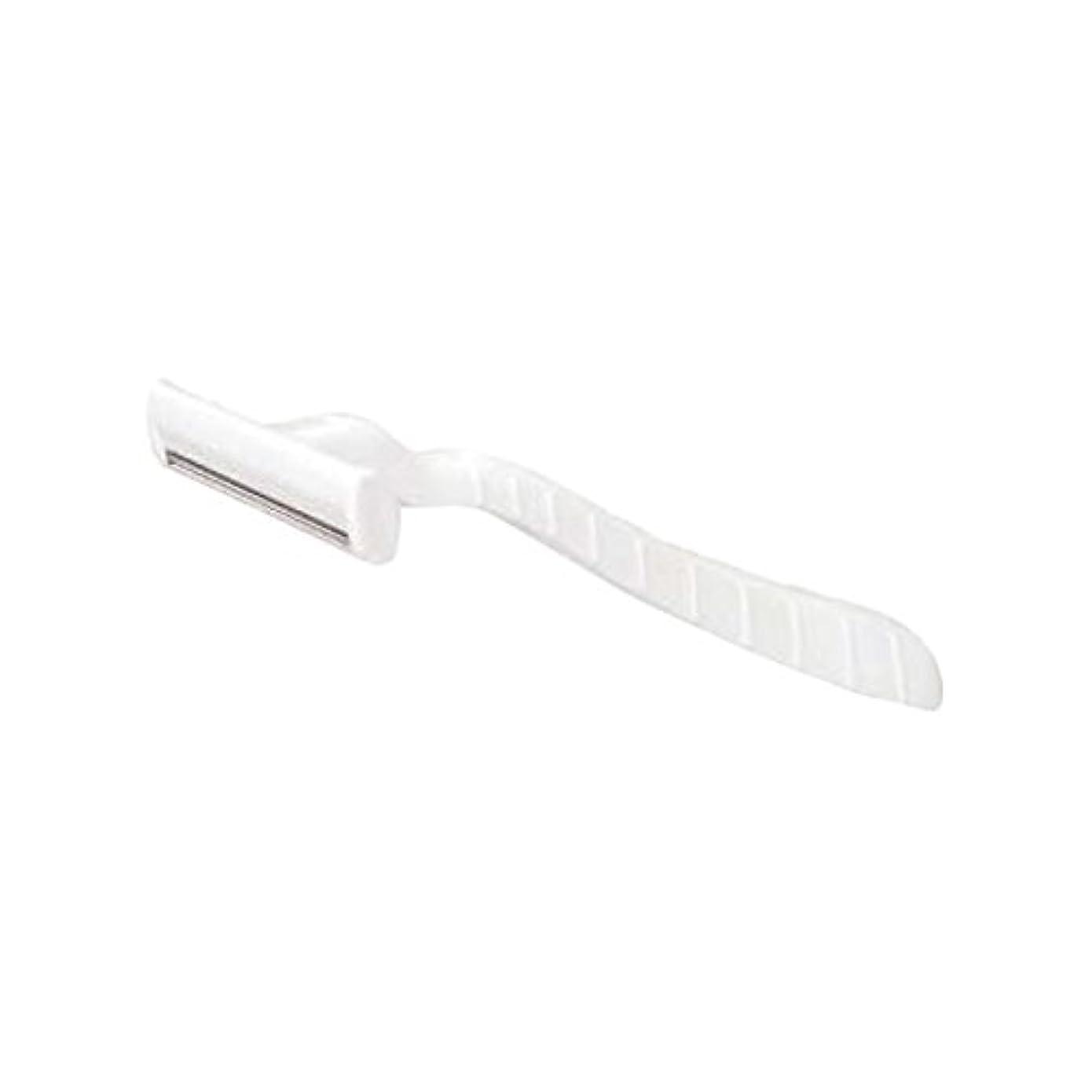 コンソール休眠うっかりホテル業務用シックカミソリ2枚刃(白)マット袋入り 30本