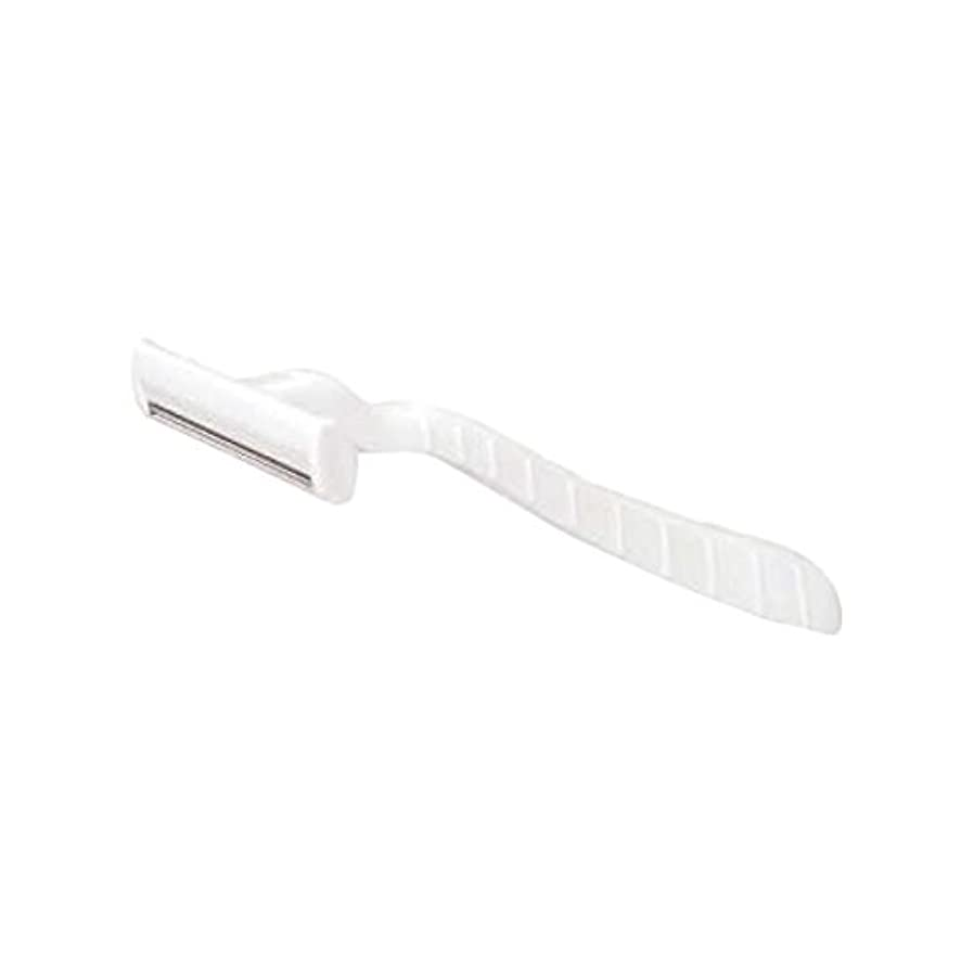 子供時代カストディアン雑多なホテル業務用シックカミソリ2枚刃(白)マット袋入り 10本