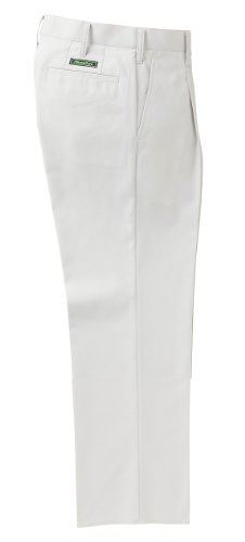 KURODARUMA(クロダルマ) MiracleCare(ミラクルケア) 形状記憶加工 吸汗 速乾 ソフトタッチ ワンタック スラックス シルバー ウエスト85cm
