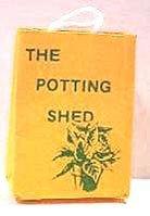ドールハウスミニチュアThe Potting Shedショッピングバッグ