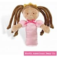 Little Princess Rattle Tan by North American Bear Co. (3885) by North American Bear