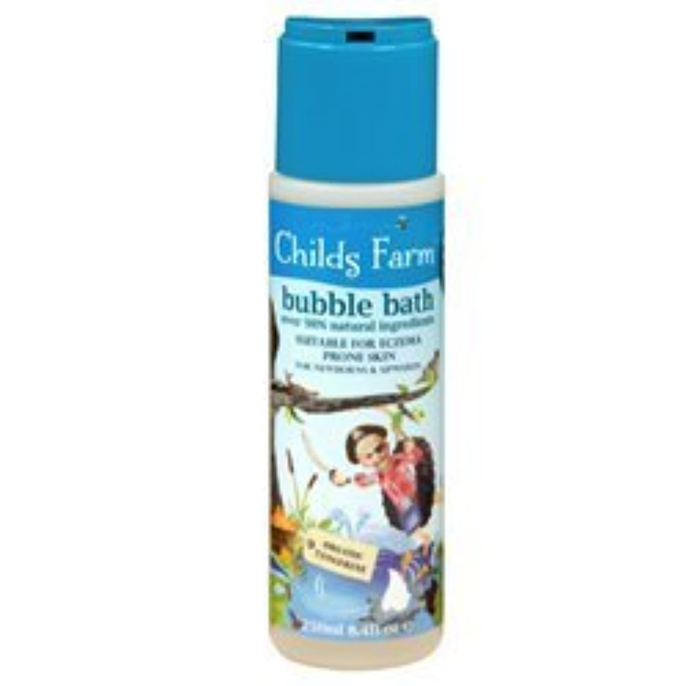 チーズ罹患率ゲストChilds Farm Bubble bath for Buccaneers 250ml x 1 by Childs Farm [並行輸入品]