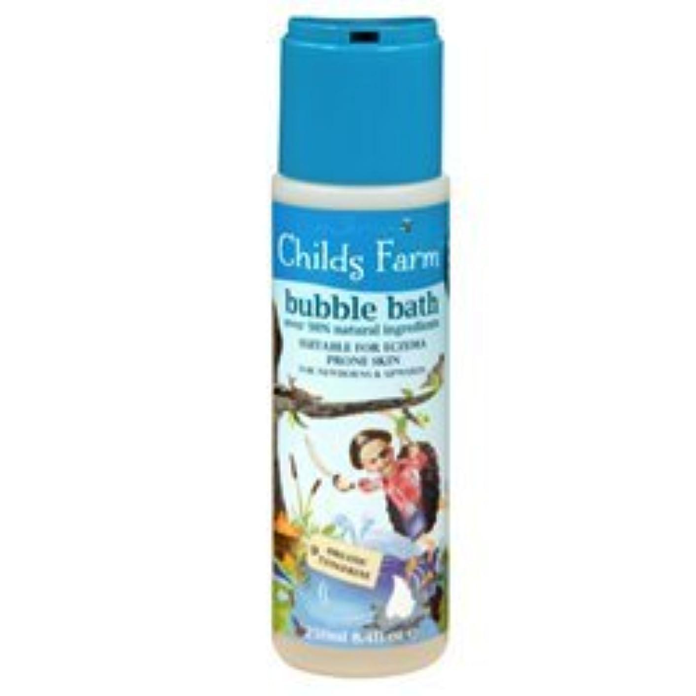 未使用戸惑うおばあさんChilds Farm Bubble bath for Buccaneers 250ml x 1 by Childs Farm [並行輸入品]