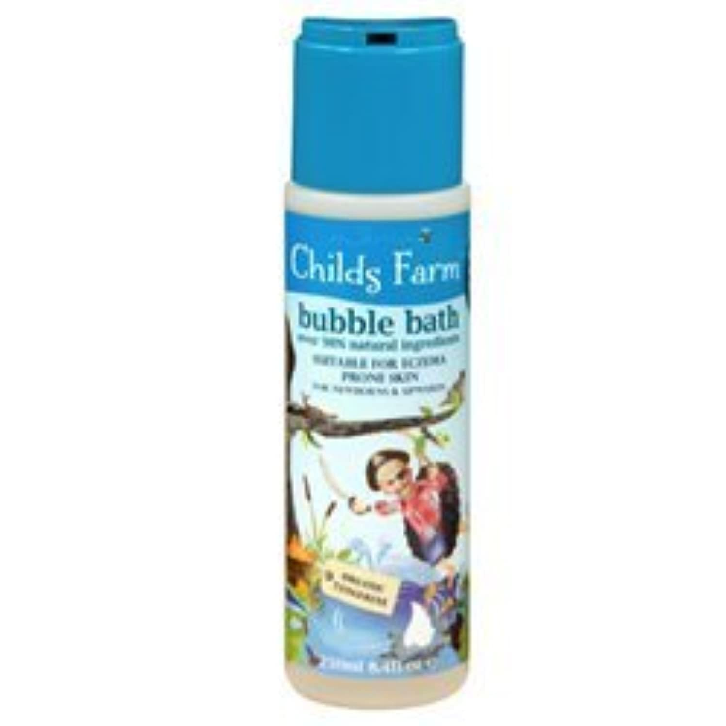 輝度簡単にミネラルChilds Farm Bubble bath for Buccaneers 250ml x 1 by Childs Farm