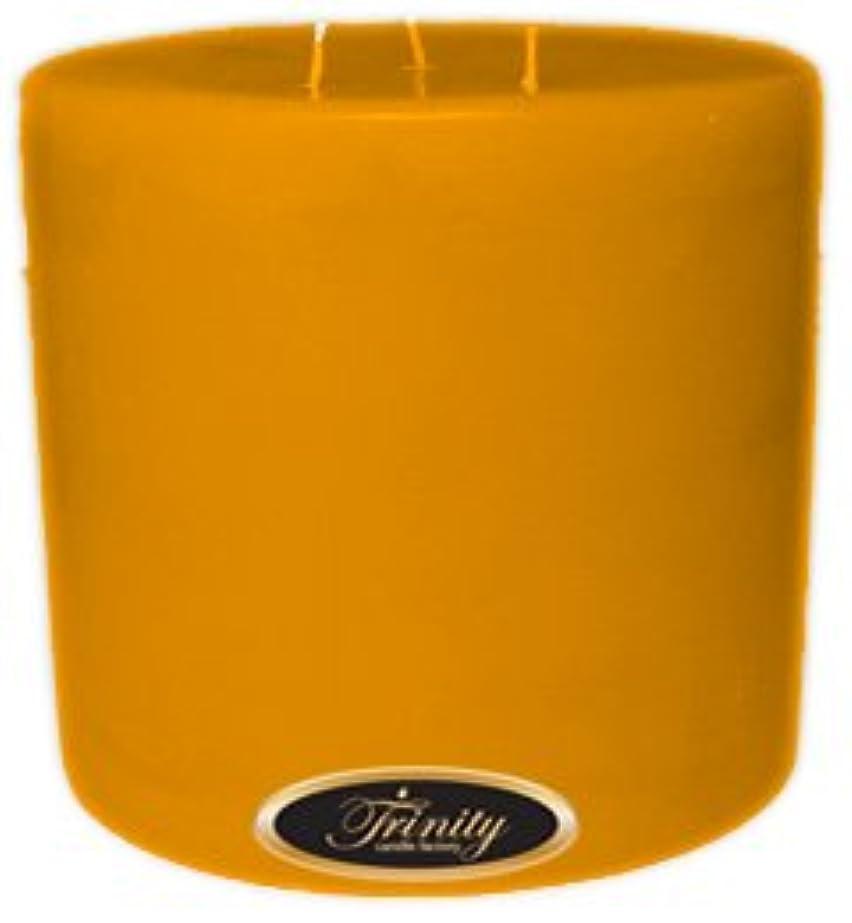 悲鳴敬礼刻むTrinity Candle工場 – ジャスミン – Pillar Candle – 6 x 6