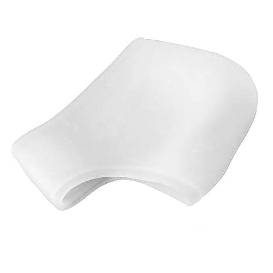 破滅的なからに変化する不調和シリコーンモイスチャライジングジェルヒールソックスひびの入ったフットスキンケアマッサージャー(透明)フットケアひび割れツールヘルスモニタを守ります