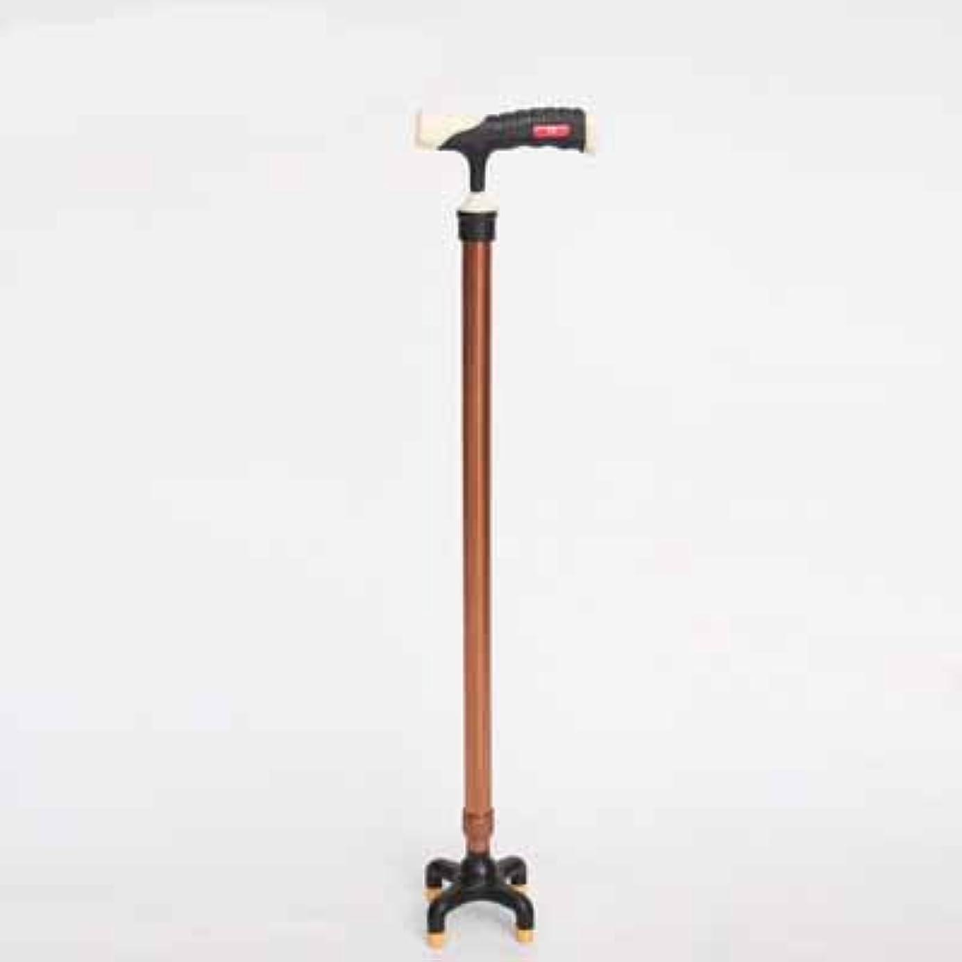 統計半導体引き潮伸縮式高齢者用歩行用スティックT字型ハンドル用杖と歩行用スティック可動性補助用アルミニウム合金アンチスキッド4フィート松葉杖