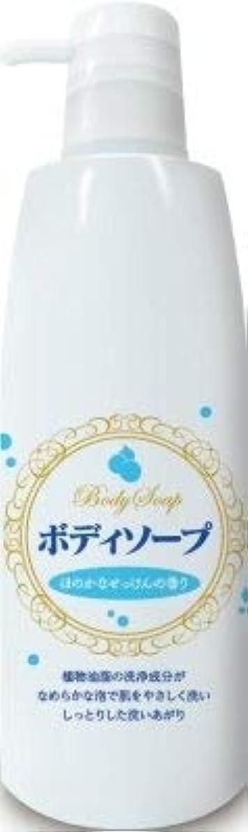 庭園ロール販売員ボディソープせっけんの香り 本体 500ml × 10個セット