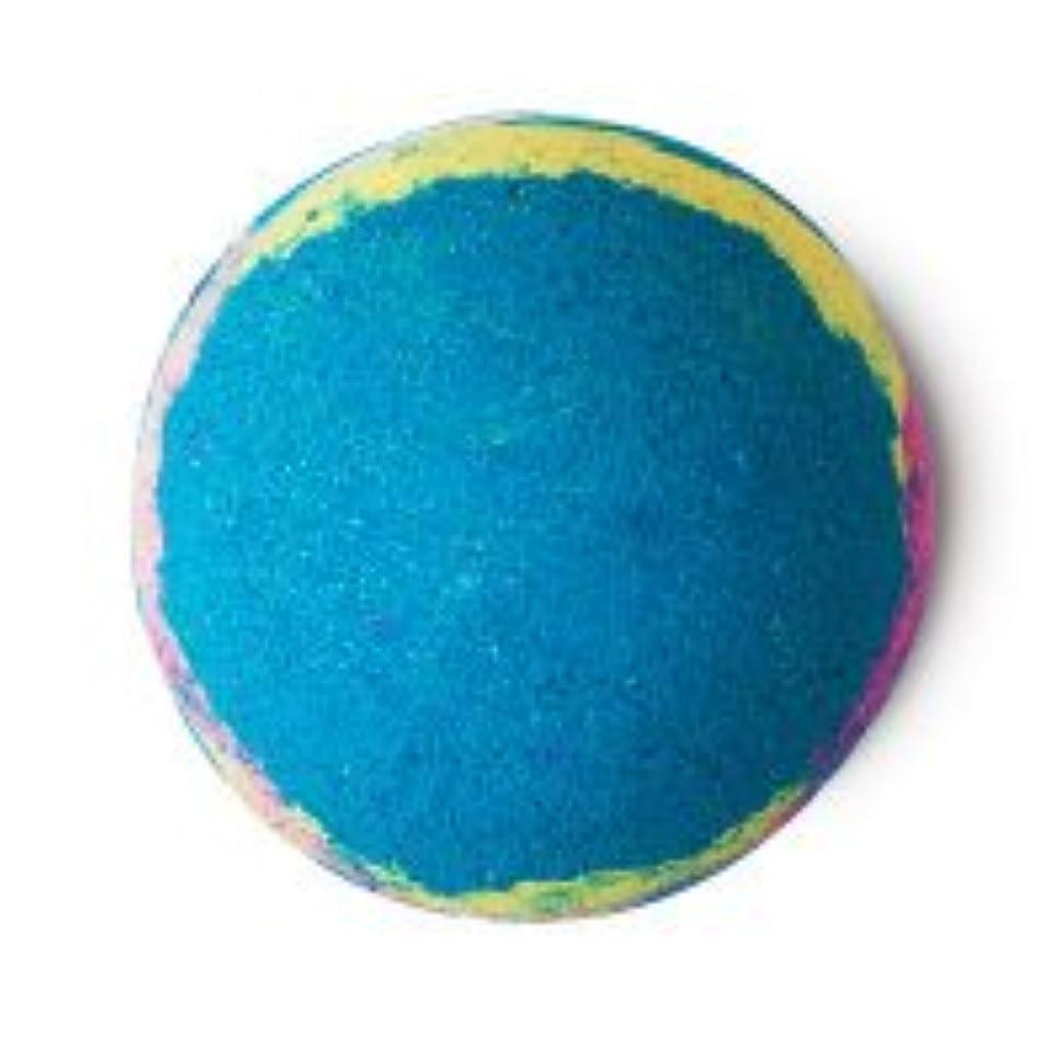 八百屋空白十分なLUSH ラッシュ インターギャラクティック 200g バスボム 浴用 ペパーミント 入浴剤 マンダリン 自然派化粧品 天然成分 Intergalactic 入浴剤 ギフト