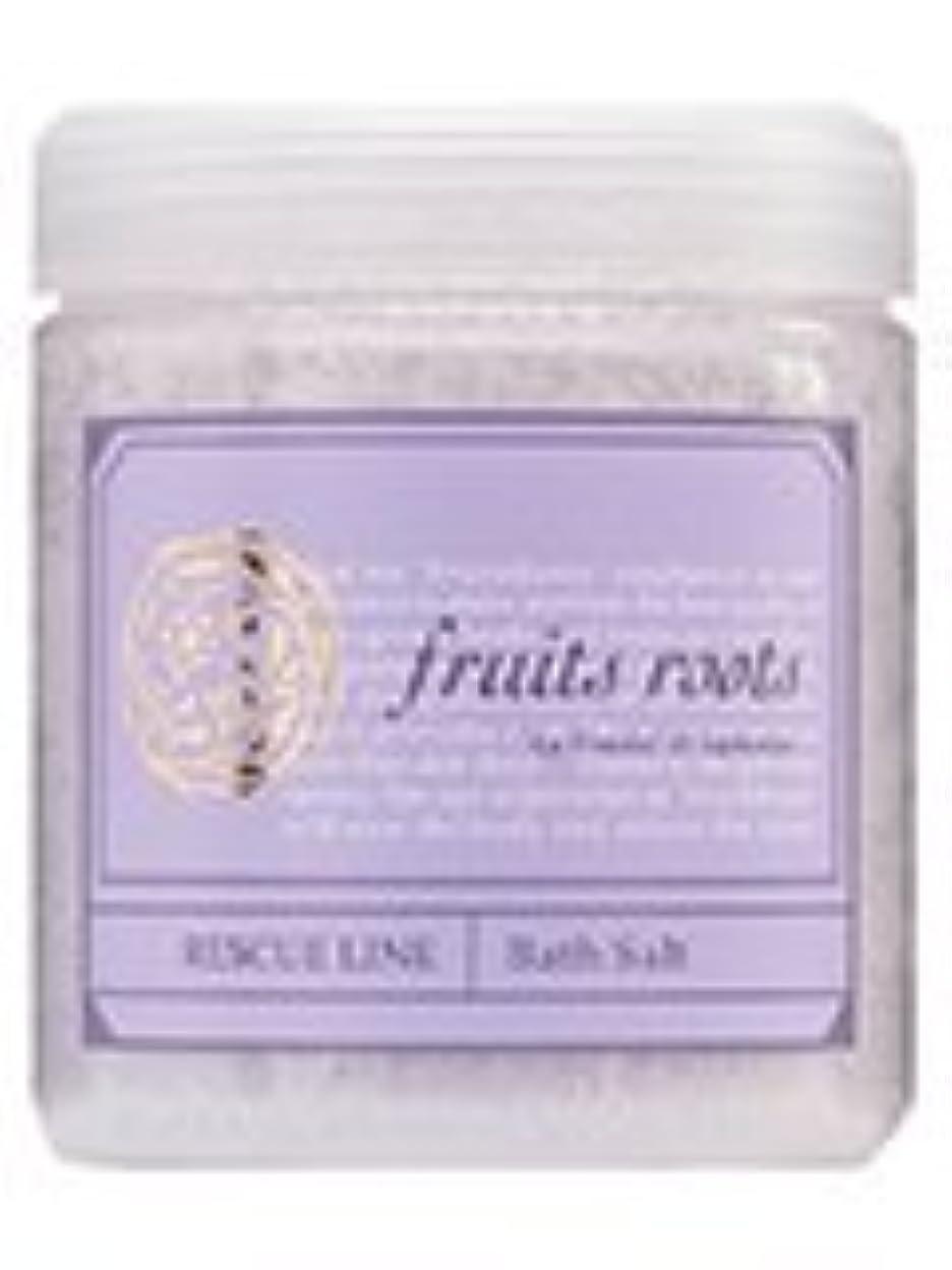 エネルギー黒くするレオナルドダfruits roots レスキュー バスソルト 50ml