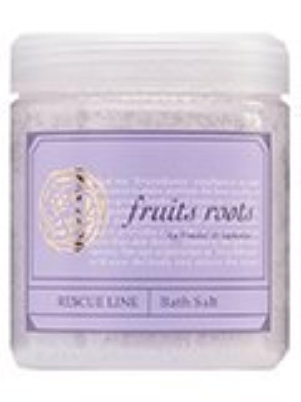化学啓発するほのめかすfruits roots レスキュー バスソルト 50ml