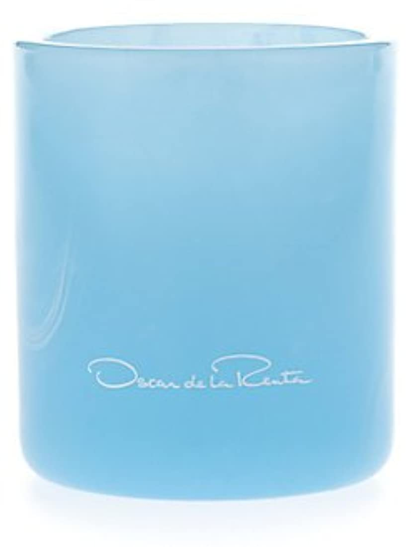 Something Blue (サムシング?ブルー) 7.0 oz (210ml) Candle by Oscar de la Renta for Women