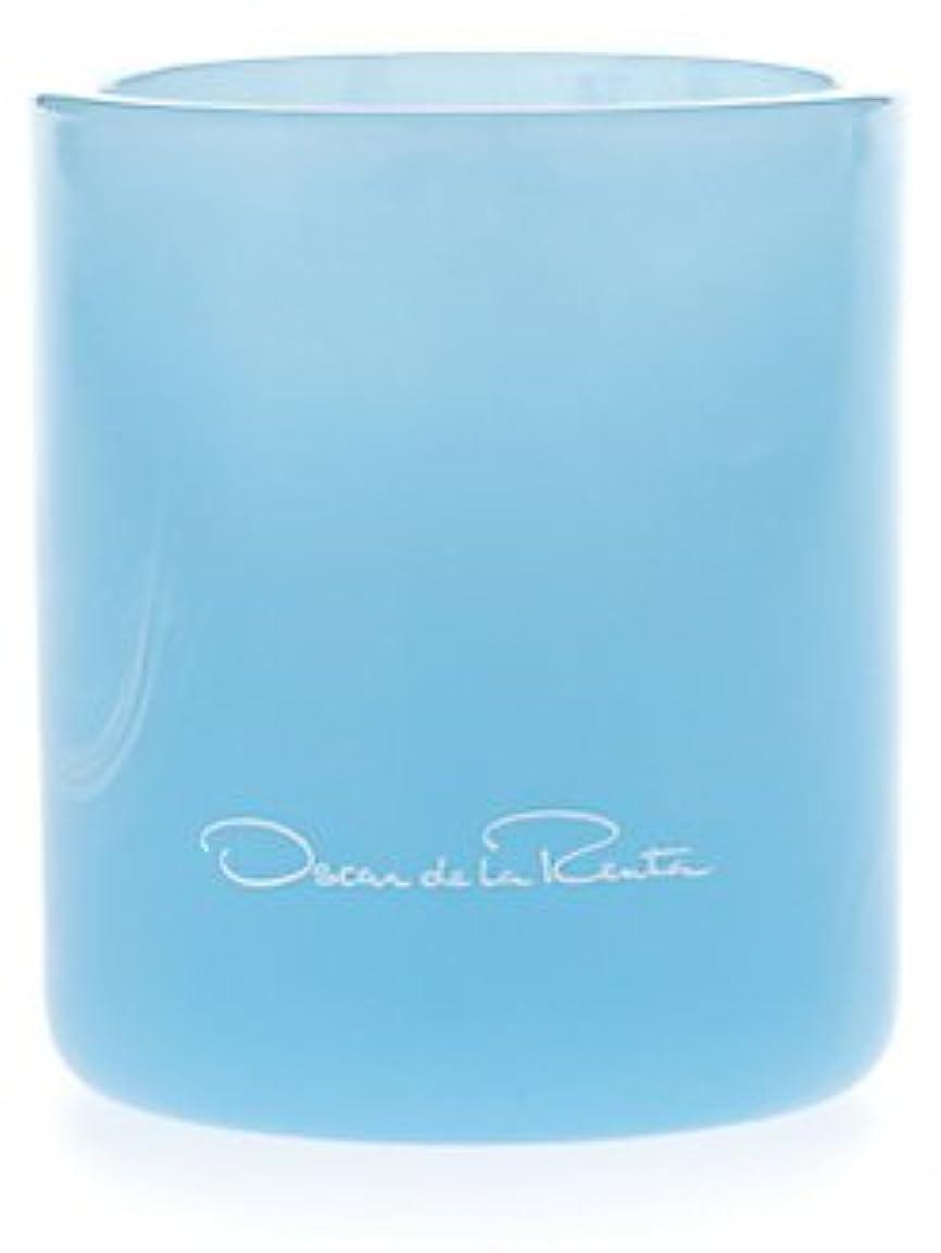 グラム天国ミニチュアSomething Blue (サムシング?ブルー) 7.0 oz (210ml) Candle by Oscar de la Renta for Women
